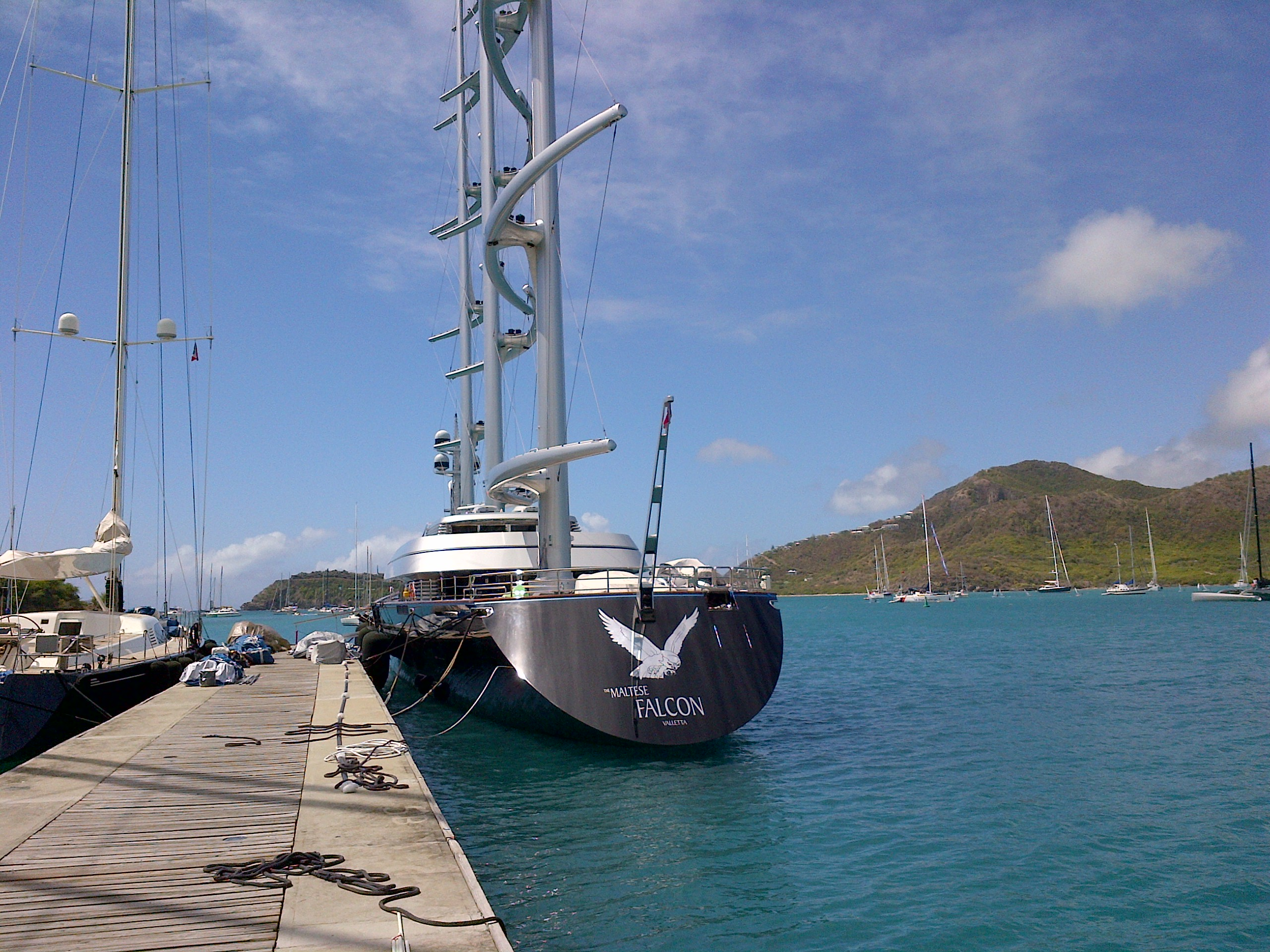 Team and Heartbeat IV in Antigua « Heartbeat Offshore