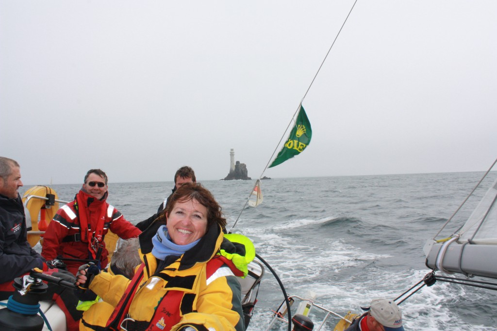 Rounded the Fastnet Rock