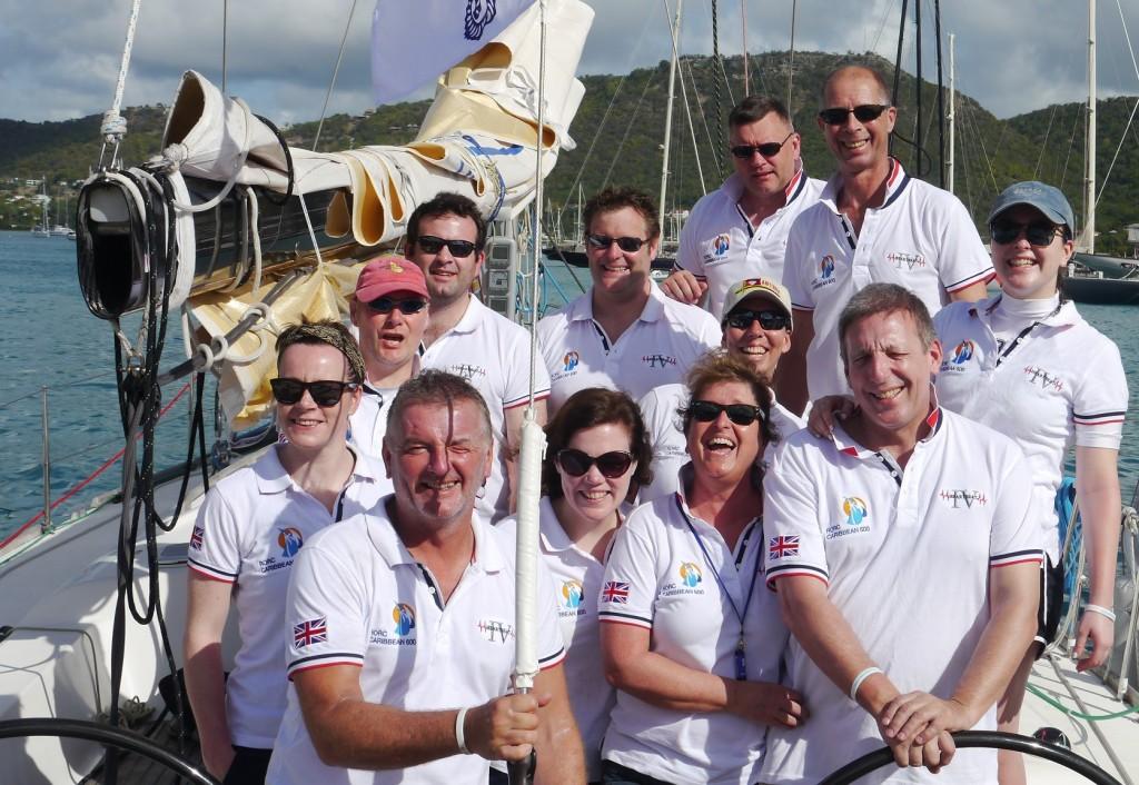The HB4 2016 Caribbean 600 Team - Southey, Girvan, Hounsell, Parker, Bassett, Hine,  Payne-James, Payne-James, Gazzard,  Payne-James, Paterson, Blande