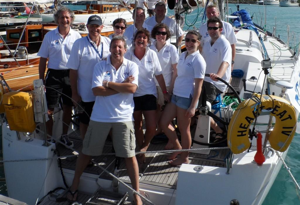 The Caribbean 600 2013 Team