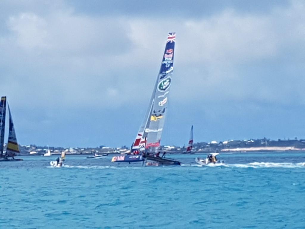 The Youth Team catamarans