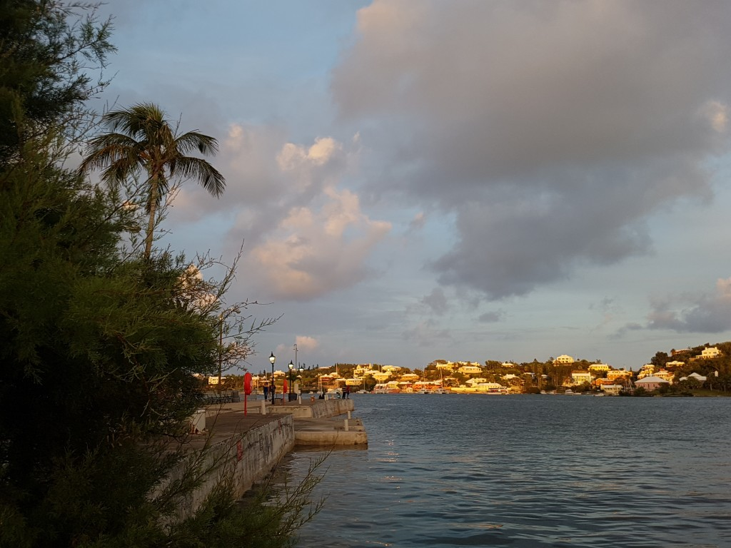 View to the south east from the Royal Bermuda Yacht Club