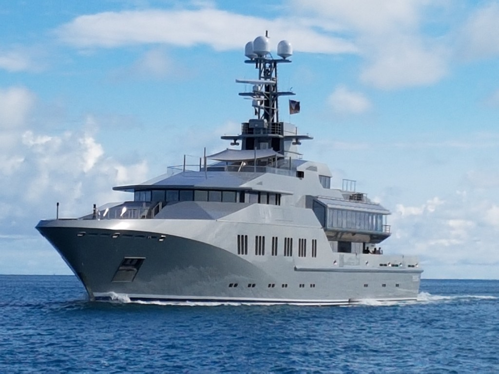 M/Y Skat owned by Charles Simonyi