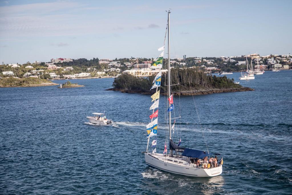 Heartbeat IV in Bermuda by John Hooper on MV Boudicca
