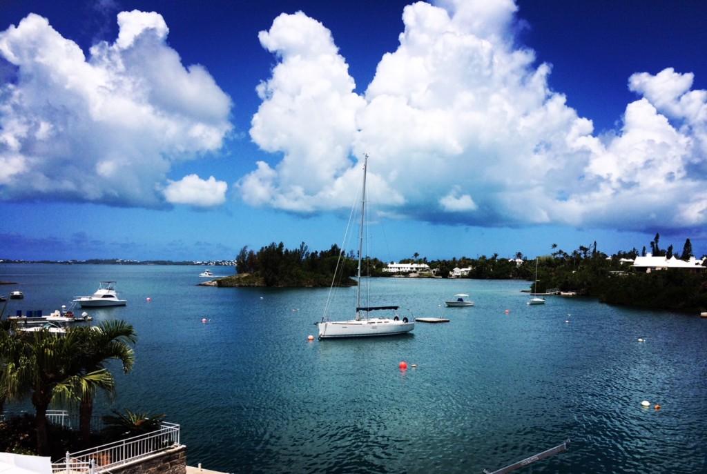View across Agar's Passage, Bermuda
